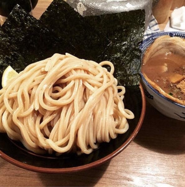 「特製つけ麺」@伊予源氏車の写真