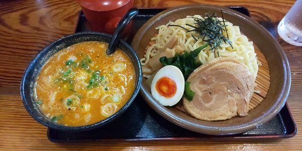 「味噌つけ麺」@幸麺の写真