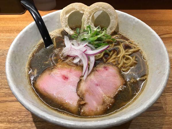 「煮干ブラック  900円」@らーめん専門 和心 武庫之荘店の写真