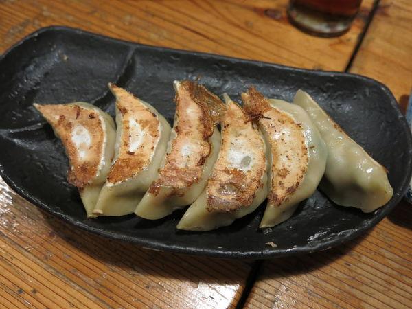 「夢餃子(6個):380円」@武藤製麺所の写真