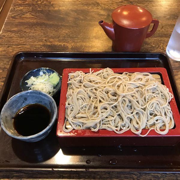 「もり(¥550)」@そば處 香取屋の写真