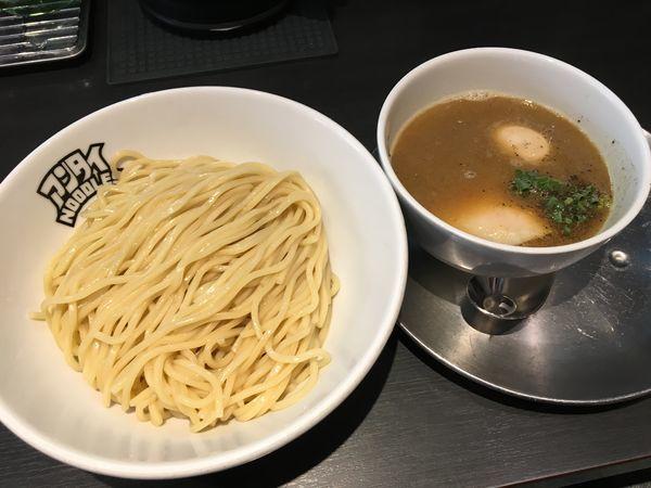 「つけ麺+味玉」@つけ麺 中華そば アンタイNOODLESの写真