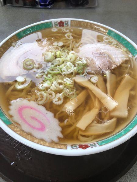 「ラーメン(大盛り)」@佐野らーめん 麺龍の写真