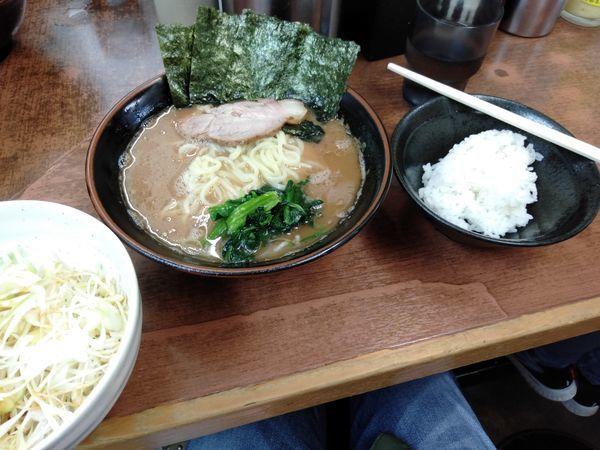 「ネギラーメン」@横浜らーめん 武蔵家 池袋店の写真