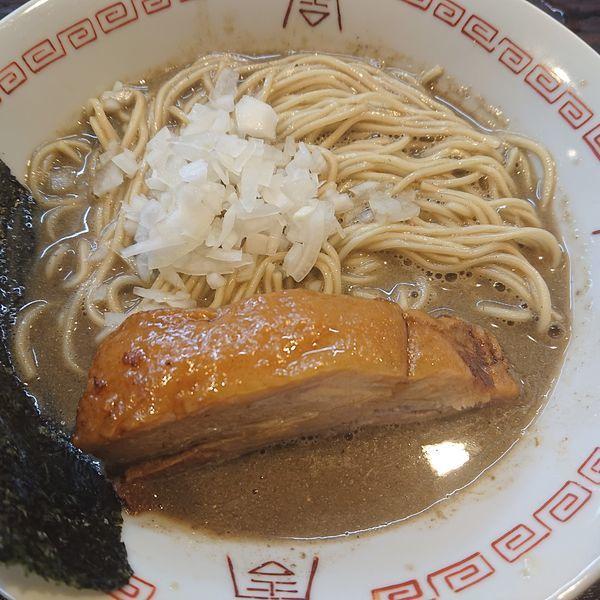 「煮干しB900円、和え玉200円」@やわなり中華そばの写真