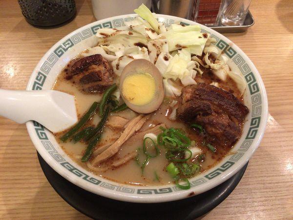 「太肉麺 1,000円」@桂花ラーメン 池袋サンシャイン60通り店の写真
