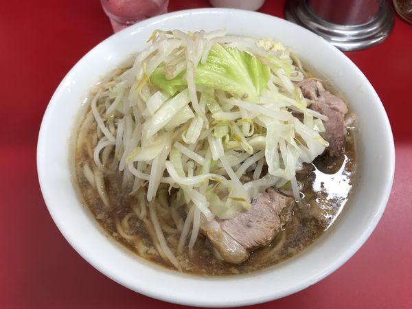 「小(麺1/3、ニンニク)」@ラーメン二郎 神田神保町店の写真