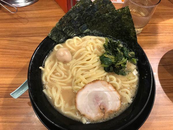 「ラーメン 塩」@横浜家系 小田原商店 マックスの写真