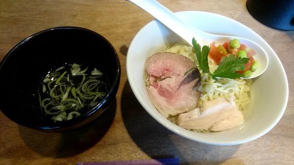「昆布水つけ麺(塩)」@メンヤ シモヤマの写真