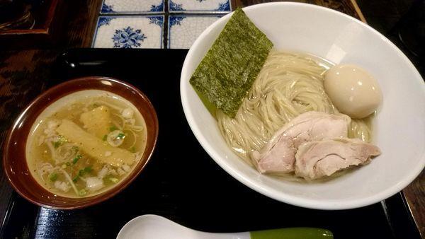「あっさり塩つけ麺」@麺処いっ歩の写真