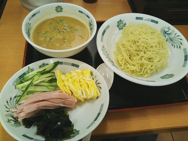 「ごま味噌冷し」@日高屋 川越宮元町店の写真