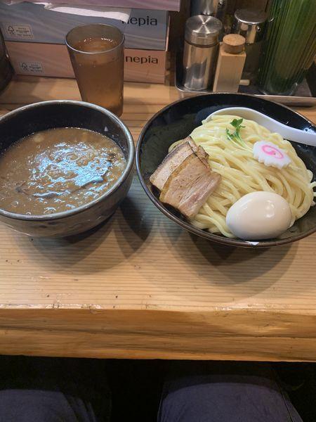 「特製つけ麺」@銀座 朧月の写真