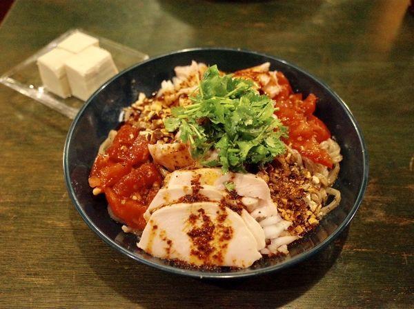 「筋肉冷麺…980円」@ラーメン めろうの写真
