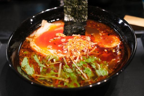 「レッドドラゴンラーメン」@麺屋永吉 花鳥風月の写真