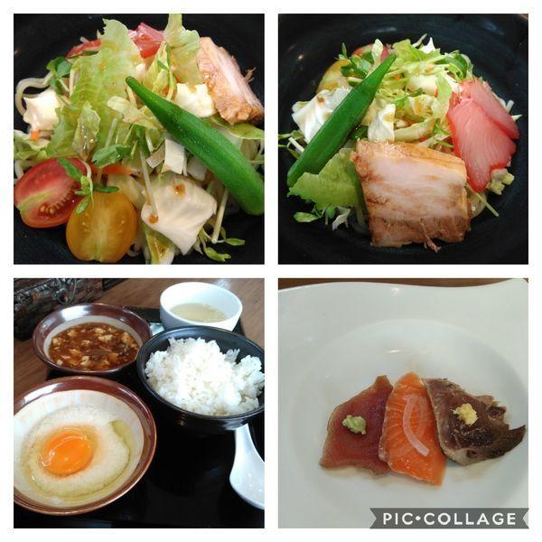 「まぜSOBA定食+ライス」@麺家 Shumen Doushiの写真