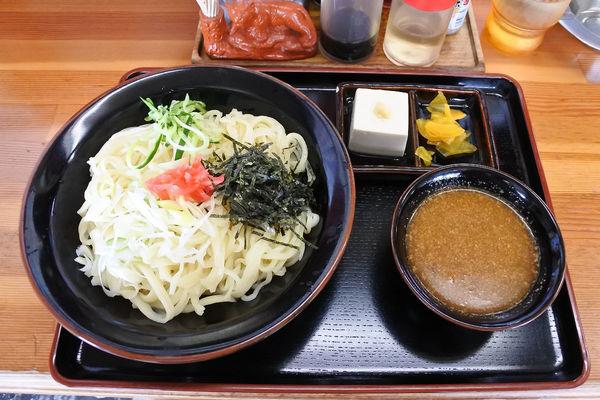 「【夏季限定】冷やしつけ麺¥850」@手打ちらーめん ぎおんの写真