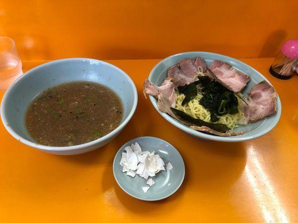 「チャーシューつけ麺  700円」@ラーメンショップYAMANAKA 福生店の写真