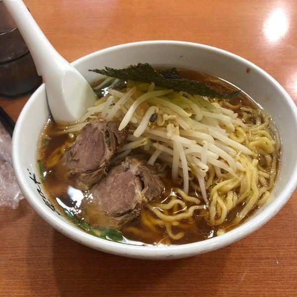 「醤油ラーメン 大盛り」@麺ロード 大森店の写真