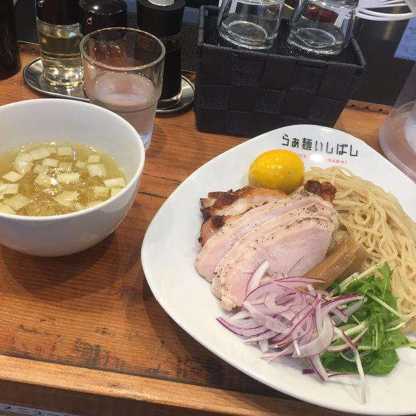 「特製 鶏清湯つけ麺」@らぁ麺 いしばしの写真
