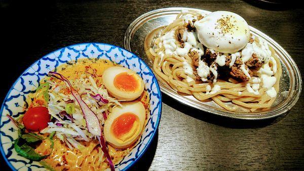 「【限定】冷やしツケバブ(大盛)」@麺屋武蔵 巌虎の写真