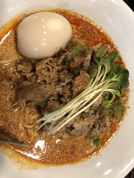 「濃厚担々麺 700円」@Soupmenの写真