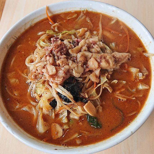 「味噌タンメン700」@蒙麺 火の豚の写真