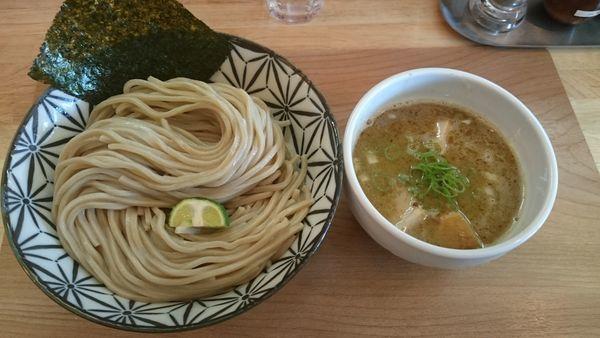「鶏白湯煮干つけ麺(大盛)」@Ramen611の写真