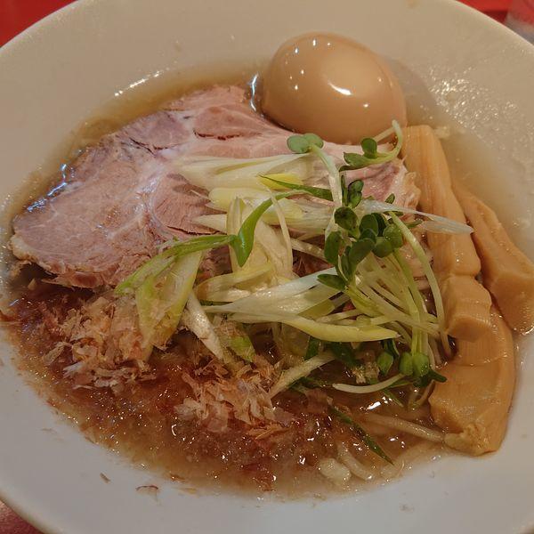 「味わい冷やしラーメン850円」@麺屋しのはら 三日月食堂の写真