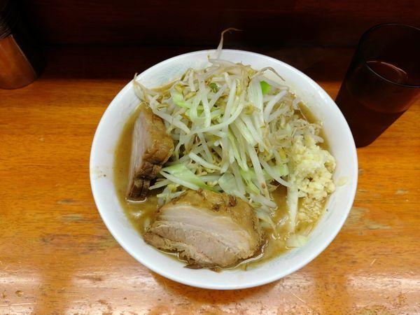 「小ラーメン(ニンニク)」@ラーメン二郎 立川店の写真