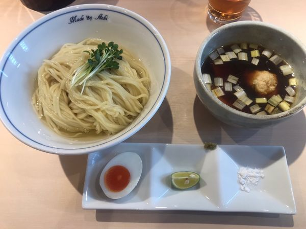「つけ麺(黒) 大盛り」@中華蕎麦 あお木の写真
