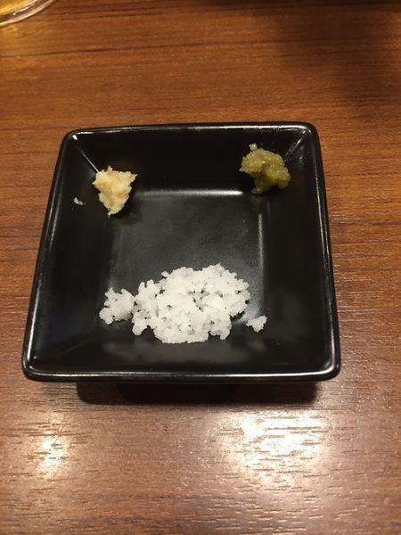 「昆布水の淡麗塩つけめん¥900+オリオンビール¥350」@麺処 はら田の写真