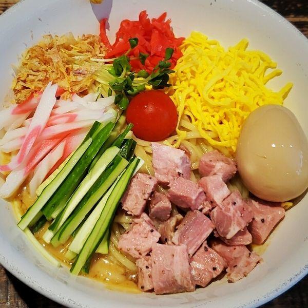 「【夏季限定】伊東の胡麻タレ冷やし 850円」@麺や 結の写真