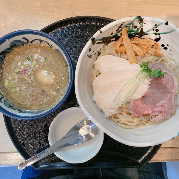 「特製煮干しつけ麺(大盛)」@つけ麺 たけもとの写真