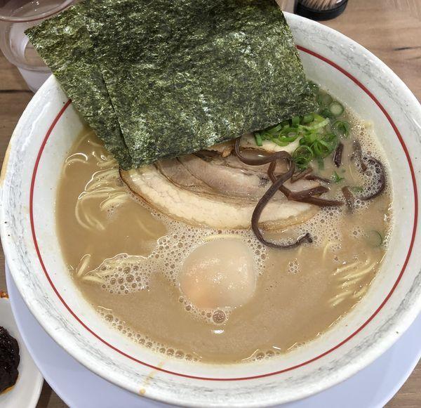 「らーめん+うま辛みそ+替玉(¥680+¥20+¥100)」@麺場 絆1048の写真