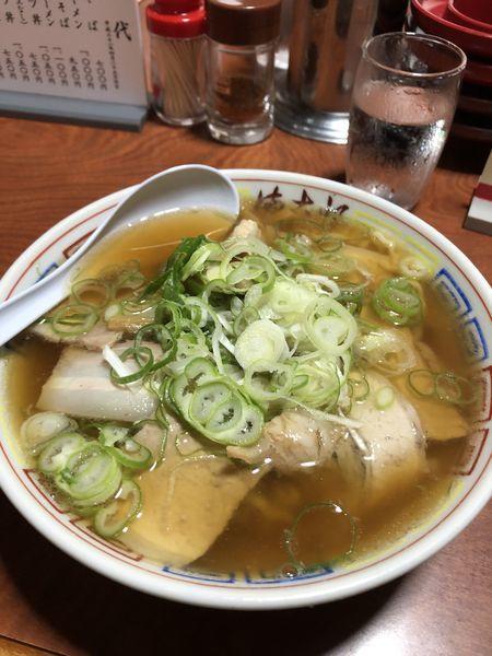 「チャーシューメン」@まこと食堂の写真