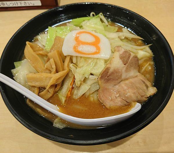 「小さな味噌(550円)」@8番ラーメン 富山駅店の写真