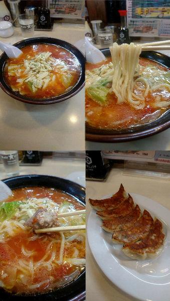 「『イタリア~ノラーメン+餃子(¥780+380)』」@麺や 手ごね竹の写真
