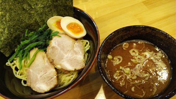 「つけ麺(青葉盛り) ¥1000」@横浜ラーメン 北村家の写真