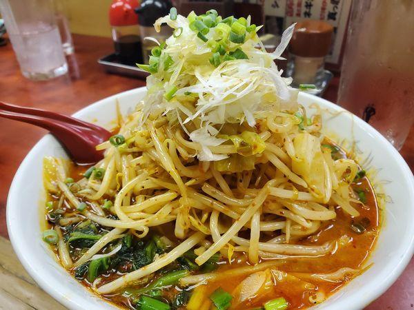 「大野菜ドラごん850円」@らーめん ドラごんちの写真