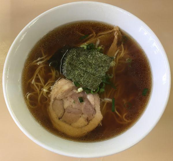 「醤油ラーメン850円」@支那そば 心麺の写真