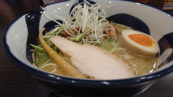 「鶏そば」@横道の写真
