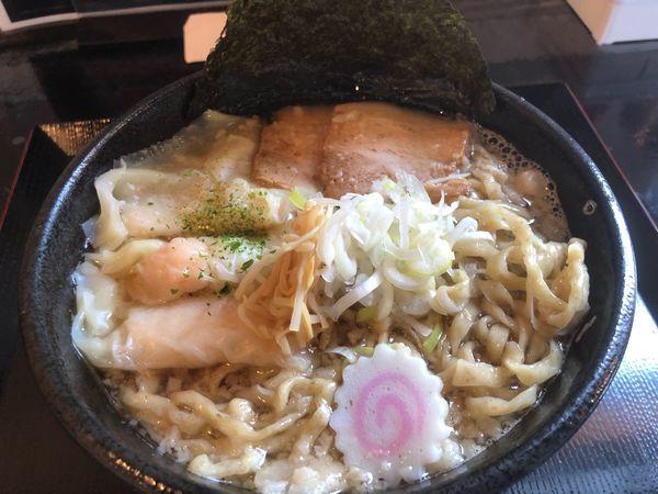 「ドニボ中華蕎麦海老ワンタン930円」@らー麺 Do・Ni・Boの写真