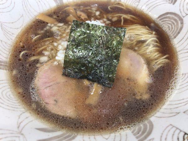 「らーめん600円」@中華そば つけ麺 音七の写真