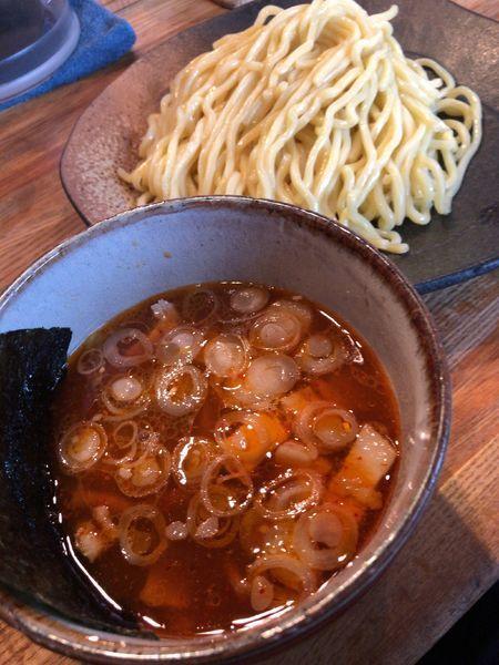 「辛味つけ麺」@つけ麺屋 ごんろく 両国店の写真
