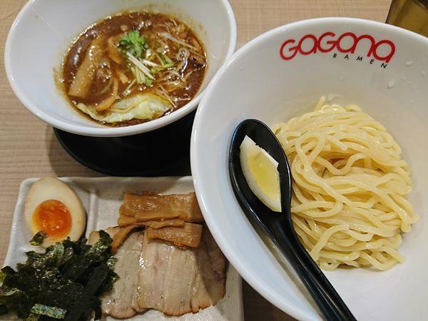 「特製ホルモンつけ麺(1180円)」@GaGana RAMENの写真