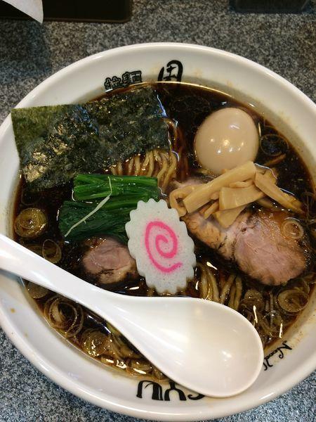 「生姜醤油ラーメン(大盛・ラーパス)750円➕味玉100円」@Noodle Studio SYU 周の写真