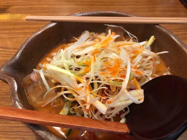 「冷やし坦々麺」@蔵出し味噌 麺場 彰膳 福岡東店の写真