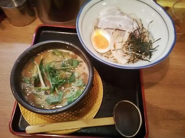 「豚骨味噌つけ麺 940円」@ラーメン猪太の写真