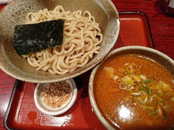 「[限定]ポン酢つけめん(小)750円」@食処 渓の写真