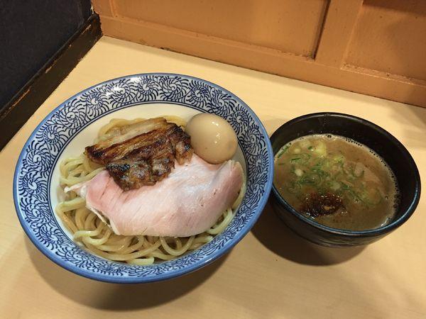 「特製豚骨魚介つけ麺」@濃厚つけ麺・ラーメン 八重桜の写真